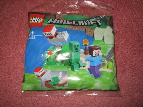 NEW//SEALED LEGO MINECRAFT STEVE AND CREEPER 30393