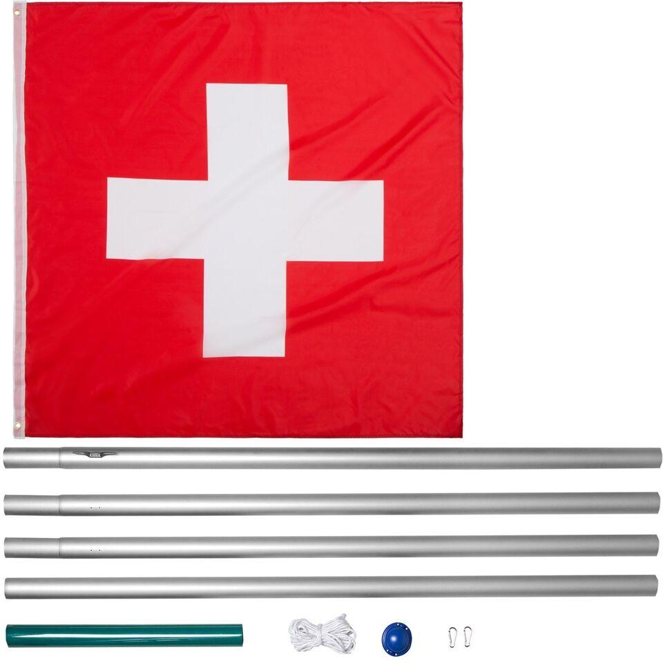 Aluminium flagstang Schweiz