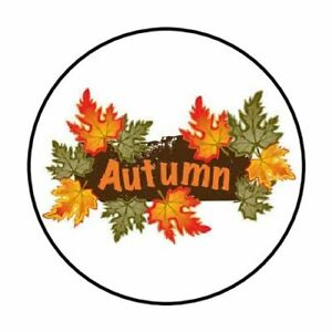 48-FALL-AUTUMN-LEAVES-ENVELOPE-SEALS-LABELS-STICKERS-1-2-034-ROUND