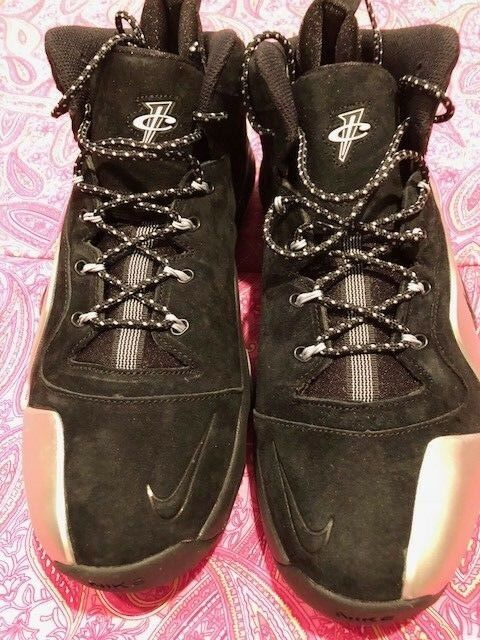 Nike Zoom Penny VI, Black / Metallic Silver, One Cent, Comfortable Cheap women's shoes women's shoes