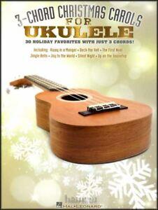 3-corde De Chants De Noël Pour Ukulele Chord & Mélodie Répertoire 30 Chansons Strum Sing-afficher Le Titre D'origine Magasin En Ligne
