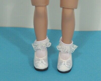 "Debs LT BLUE Princess Flats Doll Shoes For Tiny 8/"" Ann Estelle Betsy McCall"