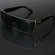3e61a46e880 Black Locs Square Men Flat Top Dark Sunglasses Cholo Gangster Hardcore  Shades