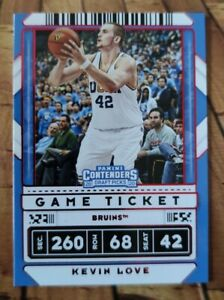 2020-21 Panini Contenders Draft Picks - Kevin Love 🔥 Game Ticket RED! #27