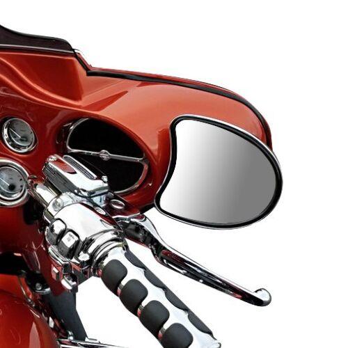 Verkleidungsspiegel für Harley CVO Street Glide 14-19 schwarz
