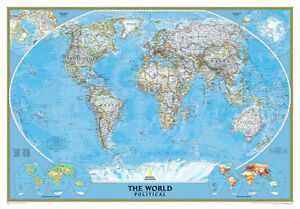 Political Map For Kids.Political Map Of The World Full Wall Mural Photo Wallpaper Home