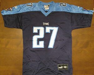 wholesale dealer 48c4f 8f187 EDDIE GEORGE TENNESSEE TITANS PUMA JERSEY SIZE YOUTH MEDIUM ...