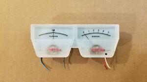Technics SA-5270 receiver tuning meters