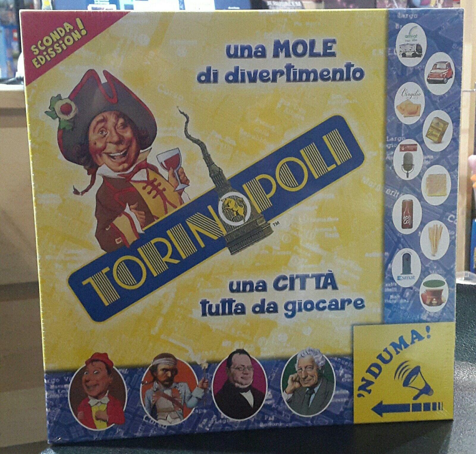 TORINOPOLI Seconda Edizione - NUOVO - gioco in scatola - fuori produzione [MF]