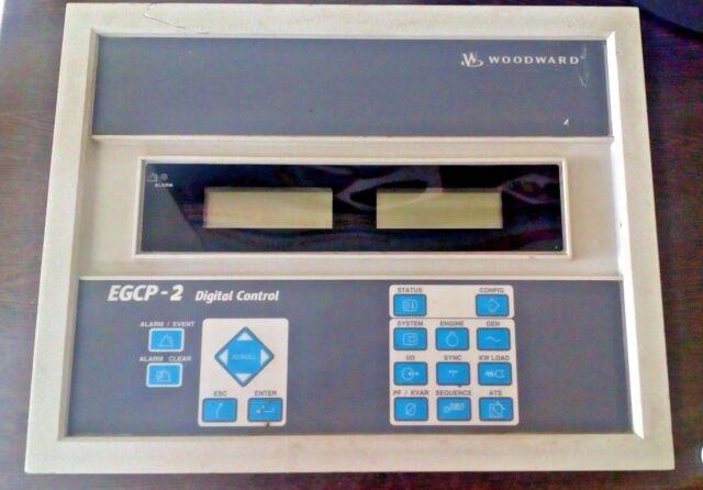 Woodward 8406-120 Rev g Egcp-2 Digital Generator Control 60days