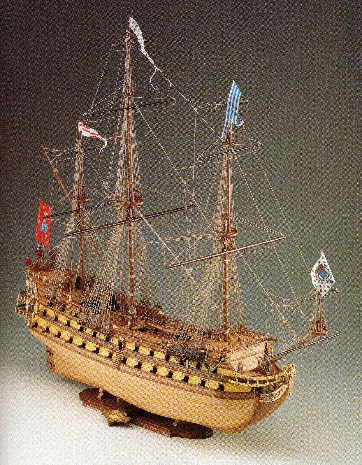 COREL SM10 BARCA Modello MIRAGE imbarcazione Nave armata VASCELLO francese 1 75