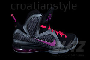 new concept ab1ef e9425 Image is loading NIKE-LEBRON-9-MIAMI-NIGHTS-Sz-8-COOL-