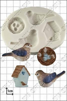 Silicone mould Baby Birds | Food Use FPC Sugarcraft FREE UK shipping!