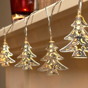 wholesale dealer 6e0ea ac6b0 Details about Set of 15 Battery Operated Indoor Christmas Tree LED Festive  String Lights