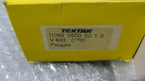Details about  /Thicknesses Linings Brake Shoes Rear Textar 11369 0500 Peugeot 404