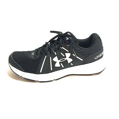 womens black under armour tennis shoes