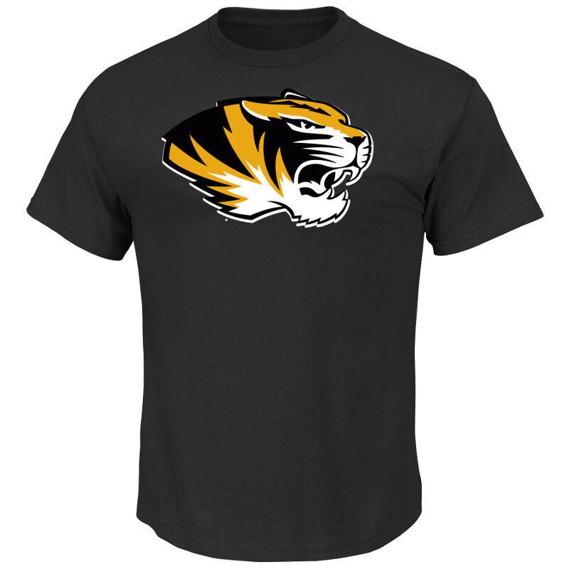 College College College T-Shirt University MISSOURI MIZZOU TIGERS Win NCAA Football von Majestic 004027