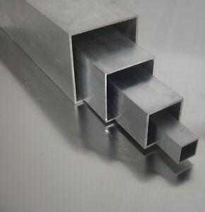 40cm Aluminium Rechteckrohr AW-6060-200x100x4mm L: 400mm auf Zuschnitt