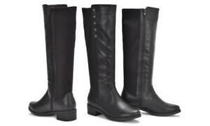 6719310a411 NEW Sociology Women s Fling Stretch Knee High Boots - Black - Size ...