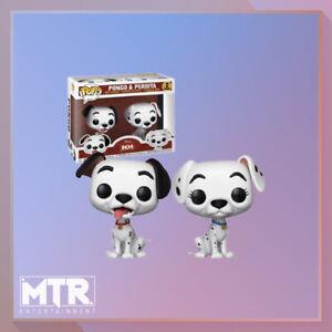 Disney-101-Dalmatians-Pongo-amp-Perdita-2-Pack-Pop-Vinyl-Figure
