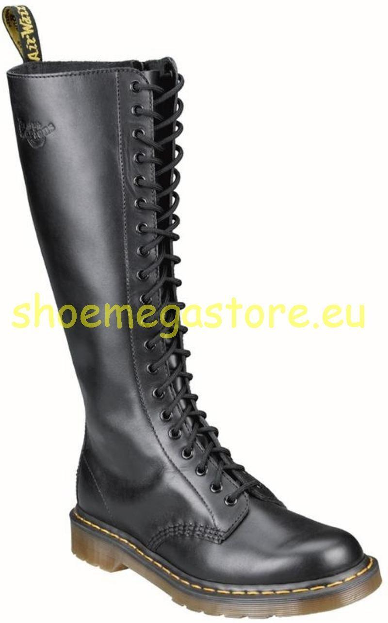 Grandes zapatos con descuento Dr Martens Doc 20 Loch 1B60 Illusion Black 11919001 das Original