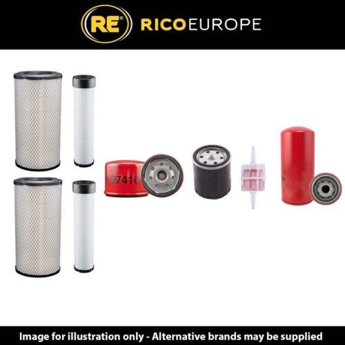 Deutz F4M1011F Motor Compair-Holman Dlt 0702 Kompressor Filter Service Set mit