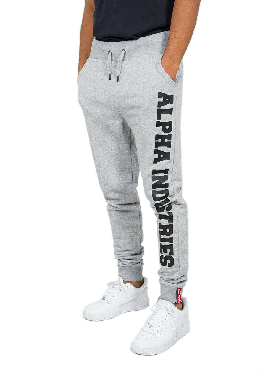 Alpha Industries Men's Jogging Pants Big Letters