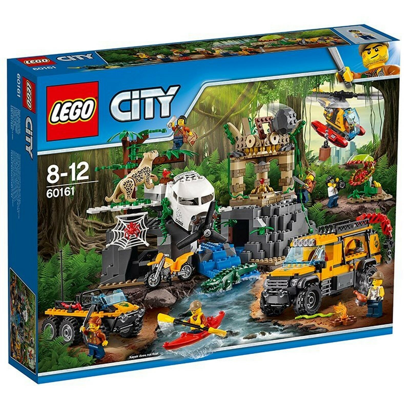 LEGO® City 60161 - Dschungel-Forschungsstation - 813 TEILE, Jungle Exploration