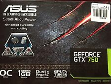 ASUS GEforce gtx 750 video card