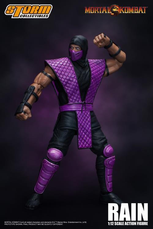 NYCC 2018 1 12 Mortal Kombat VS Series Rain Rain Rain by Storm Collectibles DMG scatola c23007