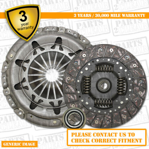 3 Part Clutch Kit with Release Bearing 215mm  3277 Complete 3 Part Set