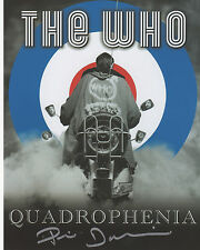 QUADROPHENIA in person signed 10x8 - JIMMY - PHIL DANIELS (silver WHO poster)
