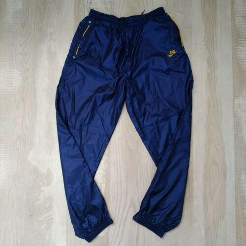Nike rare vintage sweatpants dark blue very intere