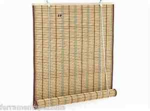Tende In Midollino A Rullo.Tenda In Midollino Sole Tapparella Rullo Avvolgibile Bamboo 200x300h Arella Osc Ebay