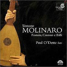 Fantasie, Canzoni E Balli (O'dette) von Simone Molinari | CD | Zustand sehr gut