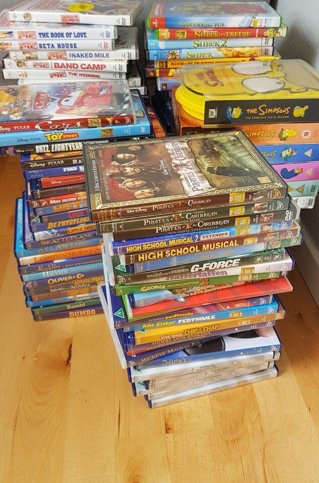 KÆMPE DVD-SELLOUT, DVD, andet