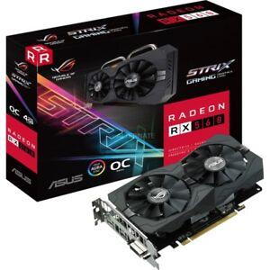 ASUS 4 GB Radeon RX 560 ROG STRIX OC EVO Gaming GDDR5 Grafikkarte PCI Express