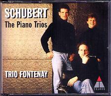 SCHUBERT Piano Trios Notturno Sonata TRIO FONTENAY 2CD Klaviertrios Op.99 100