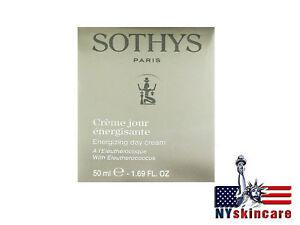 Sothys-Energizing-Day-Cream-With-Eleutherococcus-50ml-Brand-New