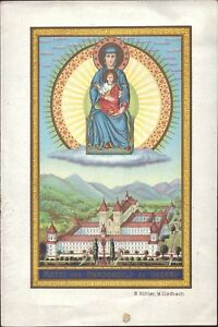 Maria-Seckau-Wallfahrt-Cuadro-Santos-Amria-Austria-Koloriert-B-7333
