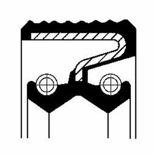 Ondes Joint d/'étanchéité de distribution engrenage-CORTECO 19033802b