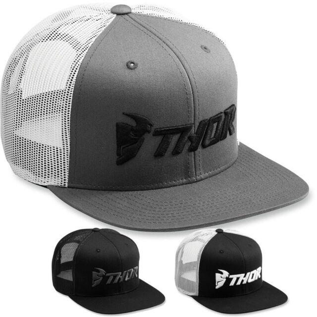 Mens Lid Cap Moose Racing Perimter Snapback Hat