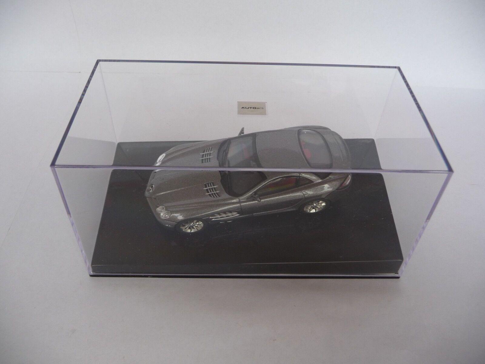 Faites plaisir à vos clients AUTOART 1:43 MERCEDES BENZ SLR Gris Métallisé AA56124   Nouveau Produit