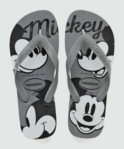 Havaianas Kids Top Disney Steel Grey Flip Flops Summer Shoes