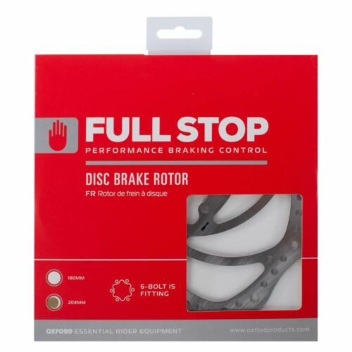 200 mm Oxford Fullstop Disque de frein Rotor 203 mm OXFORD