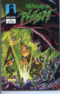 Warriors of Plasm 1993 series # 1 near mint comic book