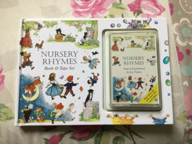 Nursery rhyme book and cassette tape