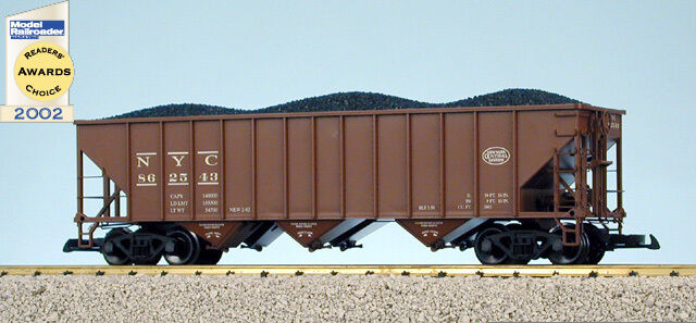 USA Trains G Scale 14009 70 TON 3 BAY COAL HOPPER New York Central