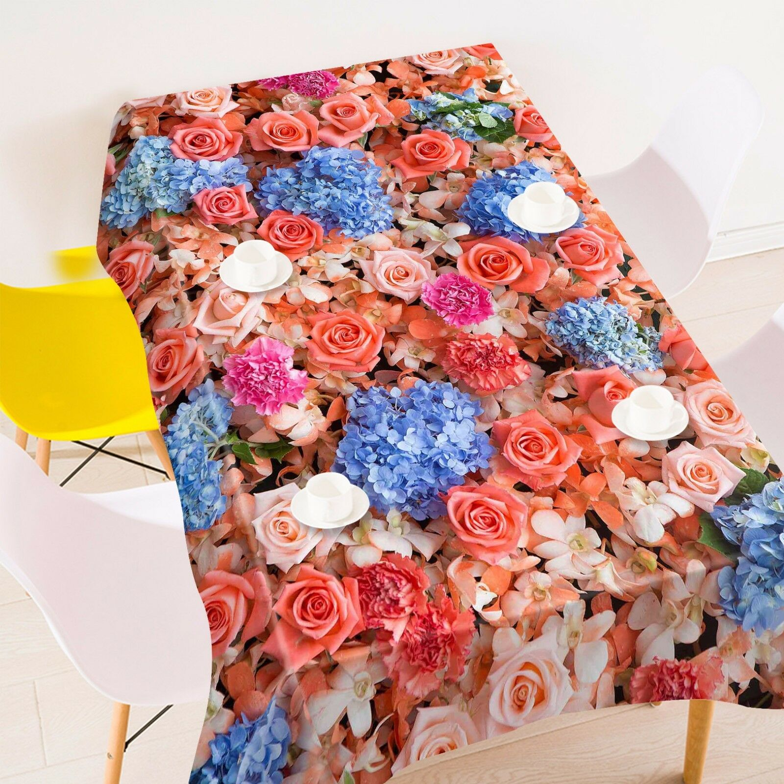 3D  Rose 4816 Tablecloth Table Cover Cloth Birthday Party Event AJ WALLPAPER AU