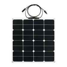 50W Solar Panel Flexible Solar Panels for Camping RV Boat